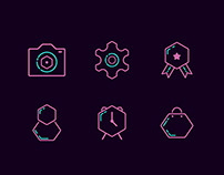 Free Icon from Hexagon Shape