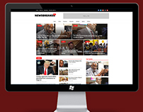 Newsbreaker Website Design