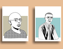 Illustration of the Masters of the Bauhaus