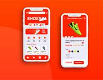 Product Category & Product Page UI Design
