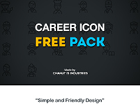 FREE! Career icon pack by Chanut-is-Industries