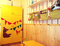 Refurbishing project 3.0 for Praktiker  - Child's room