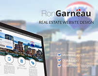 Ron Garneau: Real Estate Website Design