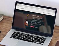 Brooklyn Custom Shop site design