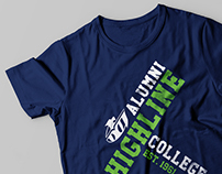 Highline College Alumni Graphic Tee
