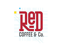 Red Coffee, Branding and Identity.