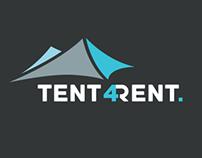 Tent4rent Branding