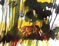 Salgari's tiger