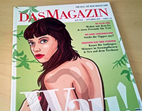 "Illustrations for the german ""Das Magazin"" magazine"