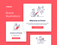 Finom Brand Illustrations
