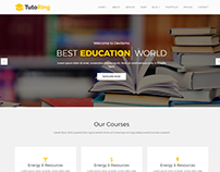 Tutoring – Education HTML Template