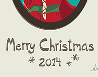 Christmas time in Illustrator – 2014