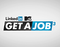 LinkedIn MTV Get A Job - Motion Infographic