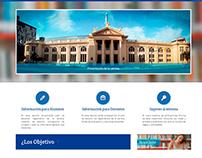 Sitio Web Universidad Nacional de Rosario.