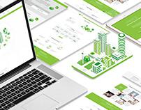 Web design corporate site
