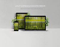 Web Design Project - Lesley Hartman & Associates