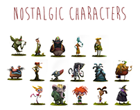 Nostalgic Characters