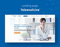 Landing page Telemedicine