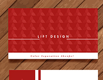 LIFT DESIGN CALL CARDS