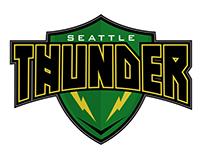 Seattle Thunder - Rebrand Concept