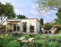Wooden Garden House