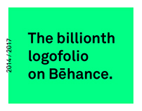 The billionth logofolio on Bēhance