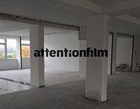 Attentionfilm anamorphic illusion promo video