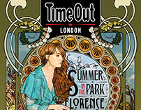 Time Out London - Florence + the Machine Cover Art