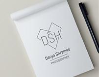 A logo for photographer