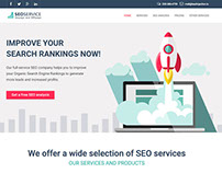 SEO Service Landing Page