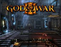 God of War 3 (2010) Olympus Portal Room Environment Art