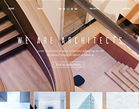 Architect branding and site design