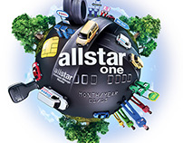 Allstar One World Illustration