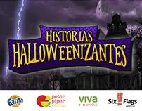 Historias Halloweenizantes - Fanta y Peter Piper Pizza.