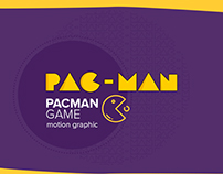 Pacman Game - Motion Graphic