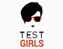 Identidade Visual TEST GIRLS.
