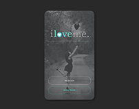 iloveme. psychological app for iOS