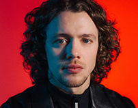 Artemi Panarin for Esquire x Tag Heuer