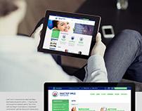 Сайт для сети стоматологий МастерМед (Харьков)