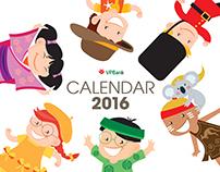 Calendar 2016 ( VPbank)