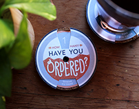 Drink-Counting Bar Coasters