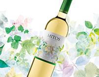Diseño Etiqueta Vino Mitos Chardonnay