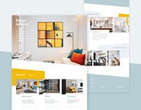 Landing page - House renovation firm