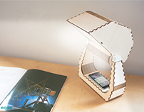 SNAIL-BOX smart interactive lamp (2016)