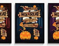 Halloween Sign Poster