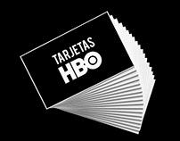 Tarjetas HBO