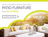 Display Ad  Bills Brother Furniture