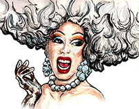 Portraits of Famous Drag Queens
