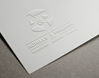 Identité Visuelle _ Achille & Philippe_ By SAWADOGO