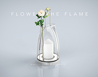 Flower the flame